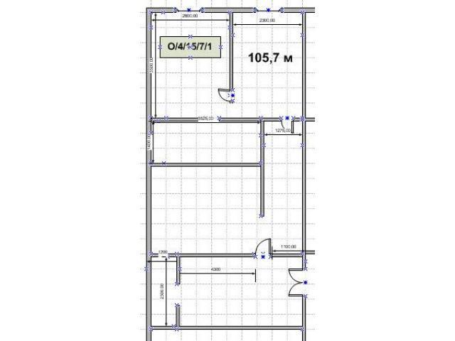 Офисное помещение 105,7 м за 66500 в мес - 1/1